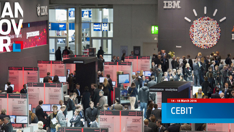 Rongta 2016 CEBIT Exhibition in Hannover