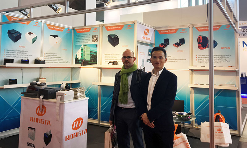 Rongta Show at 2017 LogiMAT Fair of Germany