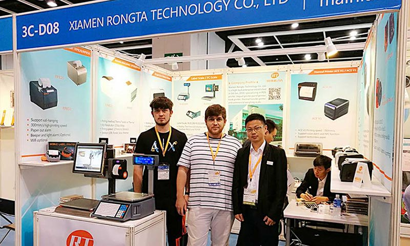 Rongta new products successfully show in 2017 Hongkong Fair