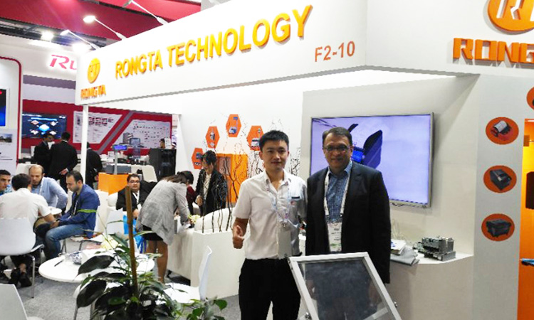 The Brightest in Middle East Stage-Rongta in Dubai 2017 GITEX